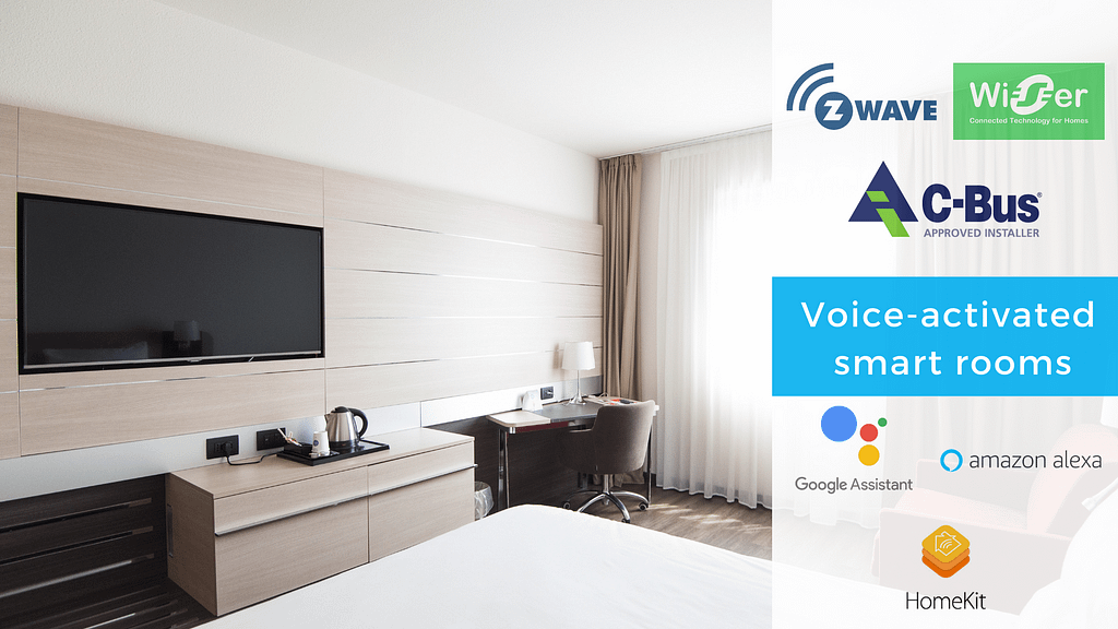 Voice technology in smart hotel rooms